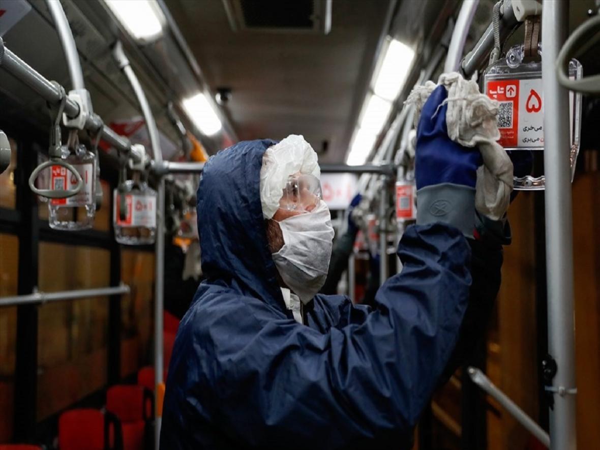 ضدعفونی کردن پایانه ها و ناوگان حمل و نقل بین شهری