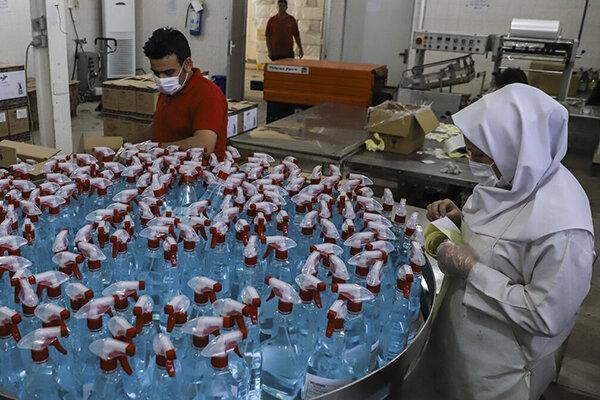 ساماندهی فراوری و توزیع مواد ضدعفونی کننده