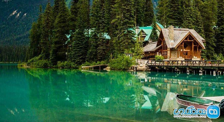 زیباترین دریاچه های دنیا ، انعکاس آسمان در آب هایی آرام