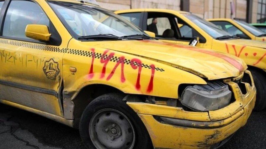 عملیات نوسازی تاکسی های فرسوده متوقف شد
