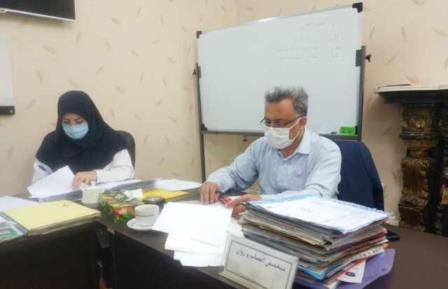 کمیسیون پزشکی بنیاد شهید با رعایت فاصله اجتماعی برگزار می گردد