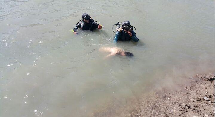 خبرنگاران غرق شدن یک جهانگرد در سد قلعه کاسیان خرم آباد