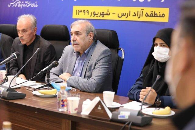 7 واحد صنعتی کشاورزی و گردشگری در منطقه آزاد ارس افتتاح شد