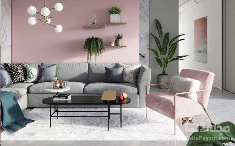 7 پیشنهاد برای ترکیب رنگ اتاق نشیمن