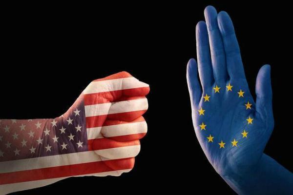شروع وضع تعرفه بر کالاهای آمریکایی از سوی اتحادیه اروپا