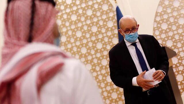 خبرنگاران وزیر خارجه فرانسه مدعی شد: سیاست ما اسلام هراسی نیست