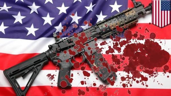 افزایش قتل بچه ها آمریکایی بر اثر استفاده از سلاح گرم