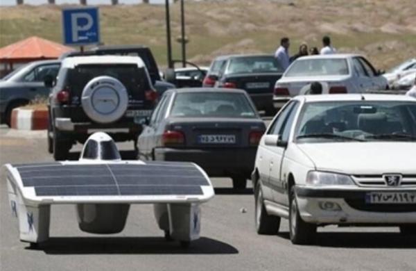 خودروی هوشمند خورشیدی فراوری شد