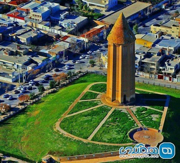 مراحل مستند نگاری و فن شناسی طرح بازسازی برج قابوس انجام شد
