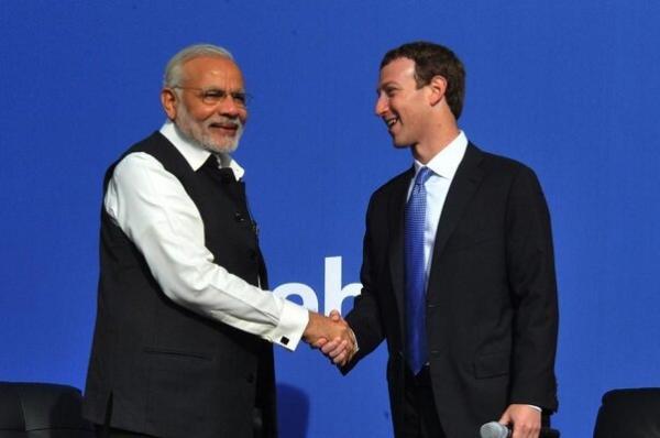 فیس بوک هشتگ استعفای نخست وزیر هند را بلوکه کرد