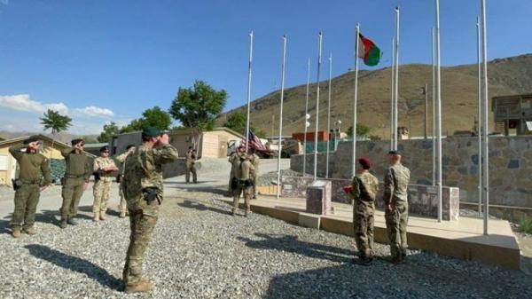 سومین پایگاه نظامی آمریکا به ارتش افغانستان واگذار شد