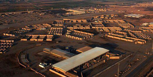 حمله راکتی به یک پایگاه نظامی، بالگردهای آمریکایی به پرواز درآمدند