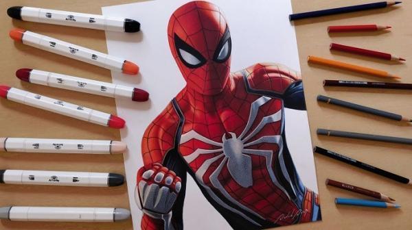 نقاشی مرد عنکبوتی برای بچه ها؛ 24 طرح هیجان انگیز و زیبا برای رنگ آمیزی