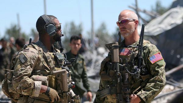گشت زنی ارتش آمریکا در حسکه سوریه پس از چند ماه