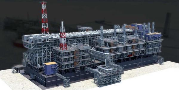 اولین واحد بزرگترین کارخانه ال ان جی دنیا از چین به روسیه اعزام شد