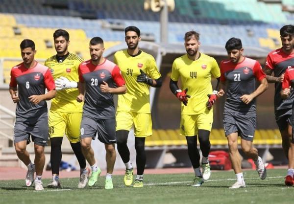 ریکاوری بازیکنان پرسپولیس پیش از سفر به تاجیکستان، اضافه شدن امیری و ترابی