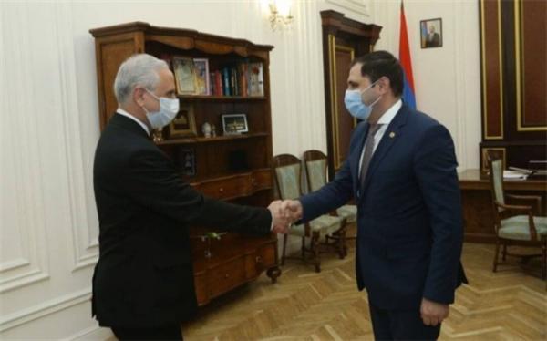 تور ارمنستان: سفیر ایران در ارمنستان با معاون نخست وزیر این کشور ملاقات و گفت وگو کرد